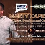 Cigars, Bourbon and Comedy with Marty Caproni