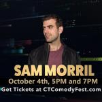 Sam Morril at Fairfield Comedy Club